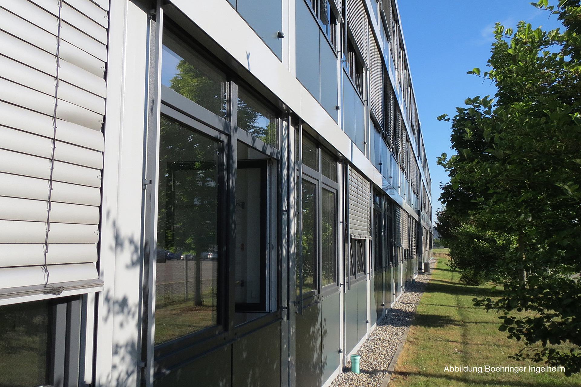 Temporäres Bürogebäude
